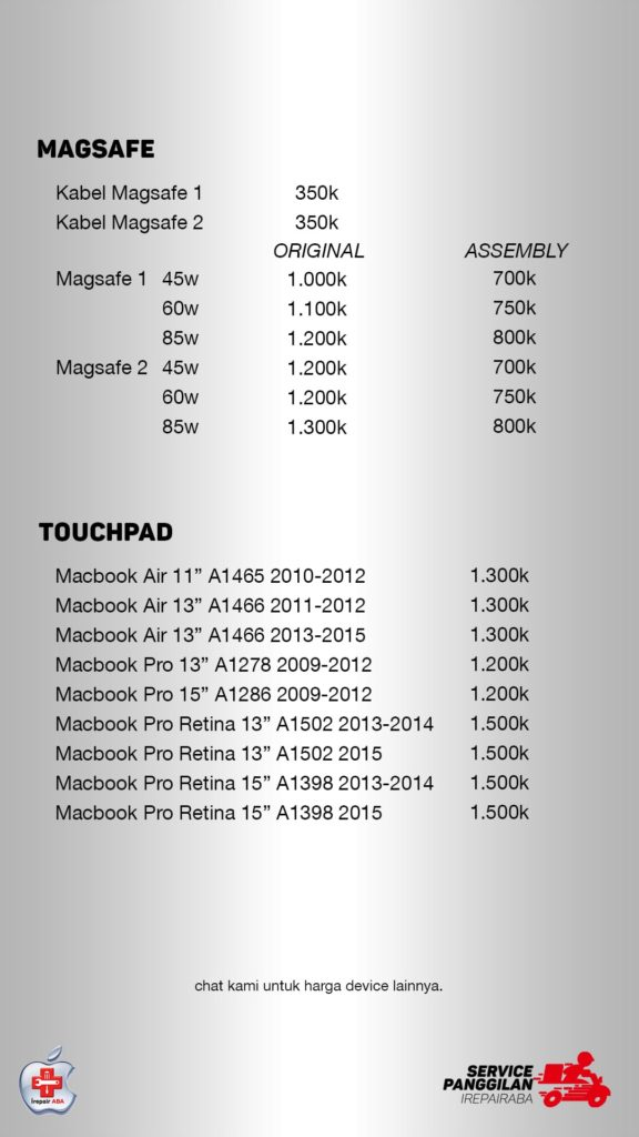 pricelist magsafe touchpad-min