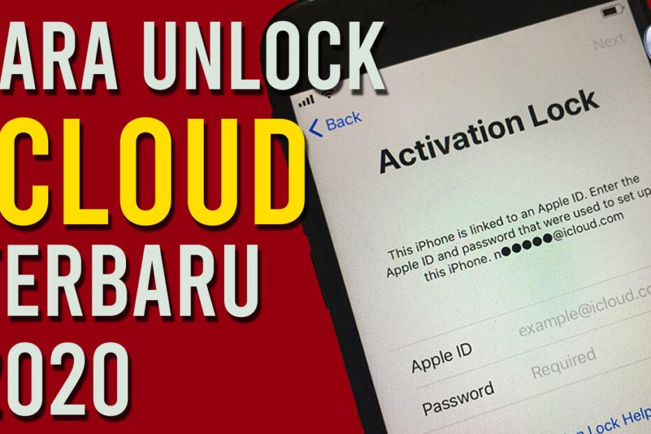 Cara Unlock iCloud ID Apple