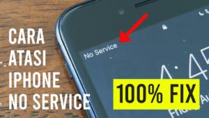 memperbaiki iphone 7 no service