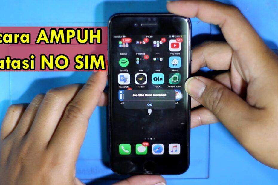 mengatasi sim card error pada iphone