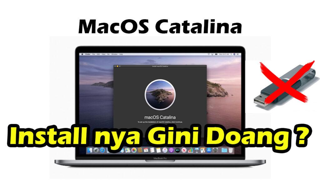 cara download dan install macos catalina