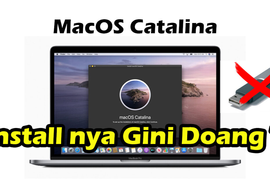 cara download dan install macos catalina