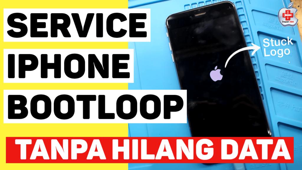 service iphone 7 bootloop