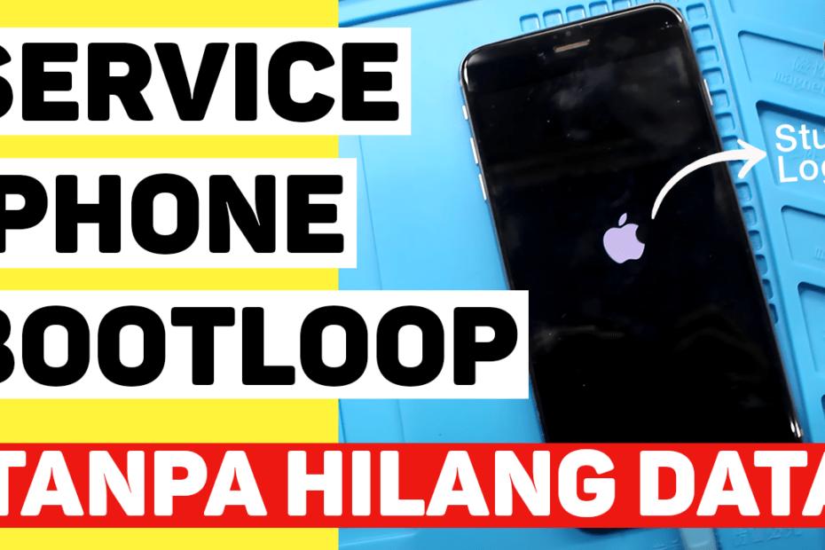 service iphone 7 bootloop stuck logo apple