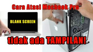 lcd macbook pro rusak blank screen layar hitam