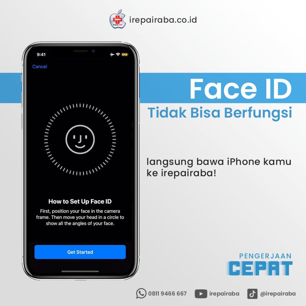 service face id iphone x xr xs xs max 11 dan 12