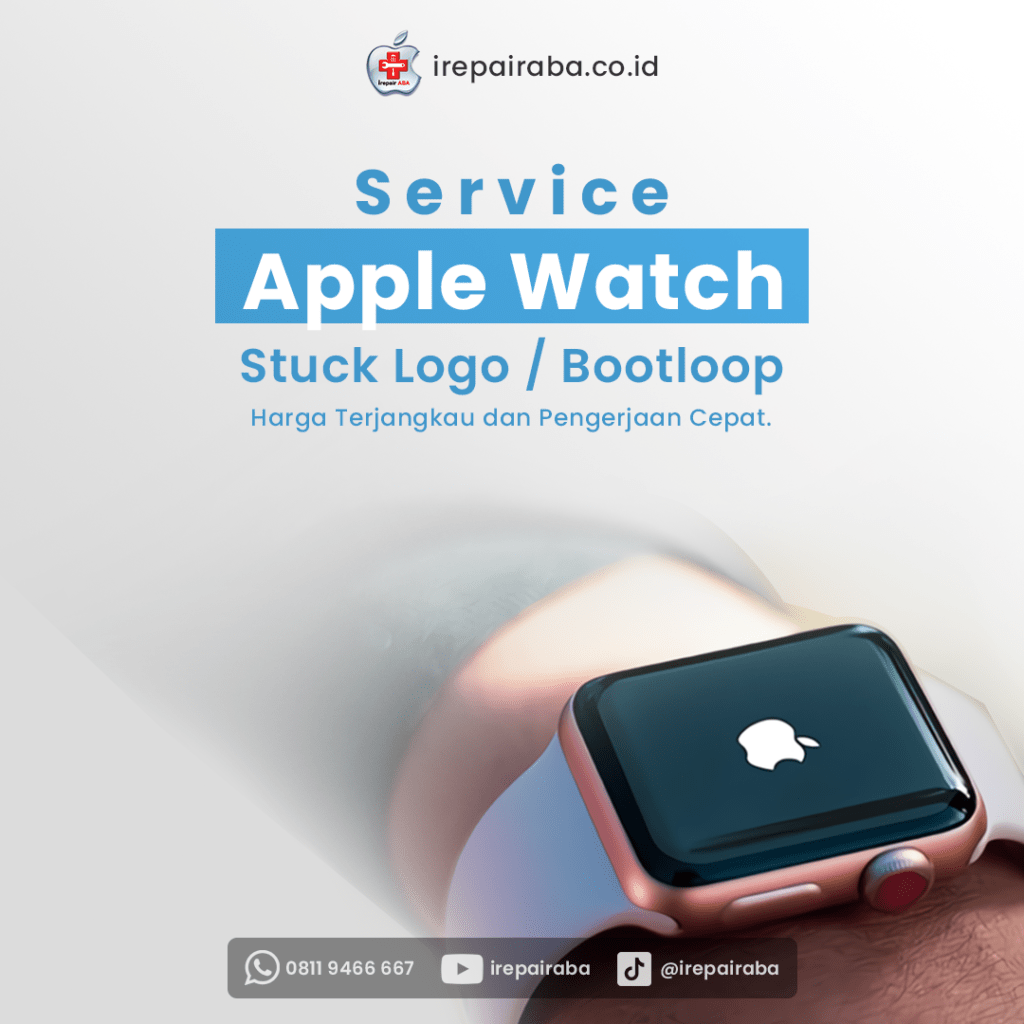 Service Apple Watch Ganti Baterai LCD Install